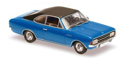 MINICHAMPS 1/43scale OPEL REKORD C COUPE – 1966 – BLUE  [No.940046121]