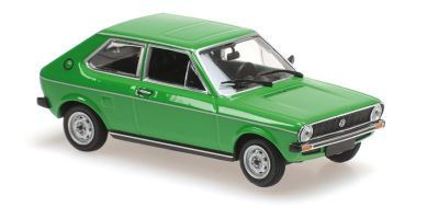 MINICHAMPS 1/43scale VOLKSWAGEN POLO – 1979 – GREEN  [No.940050501]