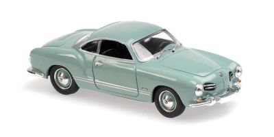 MINICHAMPS 1/43scale Volkswagen Kalman Gear Coupe 1955 Light Blue  [No.940051021]