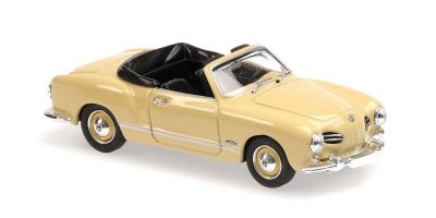 MINICHAMPS 1/43scale Volkswagen Kalman Gear Cabriolet 1955 Cream  [No.940051031]