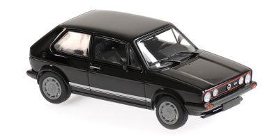 MINICHAMPS 1/43scale Volkswagen Golf GTI 1983 Black  [No.940055172]