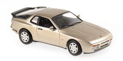 MINICHAMPS 1/43scale Porsche 944 S 1989 Beige Metallic  [No.940062220]