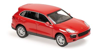 MINICHAMPS 1/43scale Porsche Cayenne 2014 Red  [No.940063200]