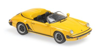 MINICHAMPS 1/43scale Porsche 911 Speed Star 1988 Yellow  [No.940066131]