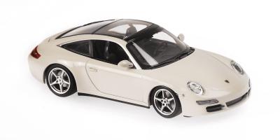 MINICHAMPS 1/43scale Porsche 911 Targa 2006 White  [No.940066160]