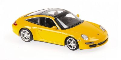 MINICHAMPS 1/43scale Porsche 911 Targa 2006 Yellow  [No.940066161]
