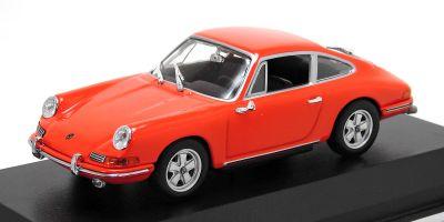 MINICHAMPS 1/43scale PORSCHE 911 – 1964 – ORANGE  [No.940067120]