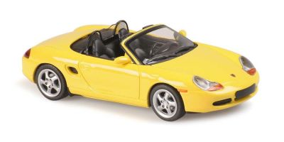 MINICHAMPS 1/43scale Porsche Boxster 1999 Yellow  [No.940068030]