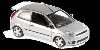 MINICHAMPS 1/43scale Ford Fiesta 2002 Silver  [No.940081120]
