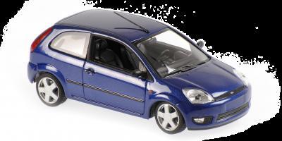 MINICHAMPS 1/43scale Ford Fiesta 2002 Blue Metallic  [No.940081121]