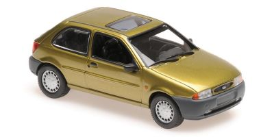 MINICHAMPS 1/43scale FORD FIESTA – 1995 – GOLD  [No.940085060]