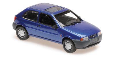 MINICHAMPS 1/43scale FORD FIESTA – 1995 – BLUE METALLIC  [No.940085061]