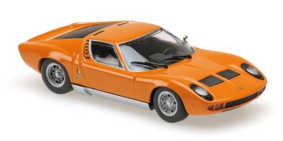 MINICHAMPS 1/43scale LAMBORGHINI MIURA – 1966 – ORANGE  [No.940103001]