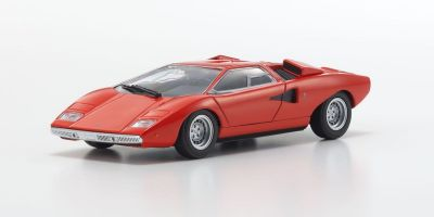 MAXICHAMPS 1/43scale LAMBORGHINI COUNTACH LP 400 – 1970 – RED  [No.940103101]