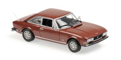 MINICHAMPS 1/43scale Peugeot 504 Coupe 1976 Brown  [No.940112120]