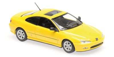 MINICHAMPS 1/43scale PEUGEOT 406 COUPE – YELLOW  [No.940112621]