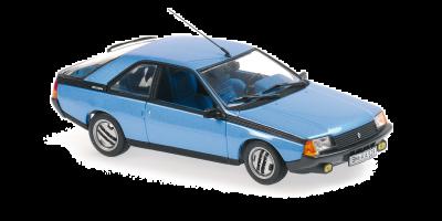 MINICHAMPS 1/43scale Renault Fuego 1984 Blue Metallic  [No.940113520]