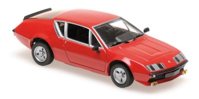 MINICHAMPS 1/43scale RENAULT ALPINE A 310 – 1976 – RED  [No.940113590]