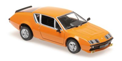 MINICHAMPS 1/43scale RENAULT ALPINE A 310 – 1976 – ORANGE  [No.940113591]