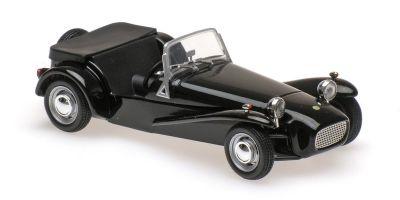 MAXICHAMPS 1/43scale LOTUS SUPER SEVEN – 1968 – BLACK  [No.940113631]