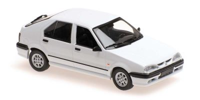 MINICHAMPS 1/43scale RENAULT 19 - 1995 - WHITE  [No.940113700]