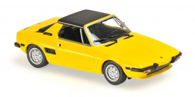 MINICHAMPS 1/43scale FIAT X1/9 – 1974 – YELLOW  [No.940121660]