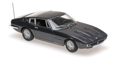 MINICHAMPS 1/43scale MASERATI GHIBLI COUPÉ – 1969 – BROWN METALLIC  [No.940123320]