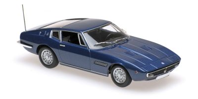 MINICHAMPS 1/43scale MASERATI GHIBLI COUPÉ – 1969 – BLUE METALLIC  [No.940123321]
