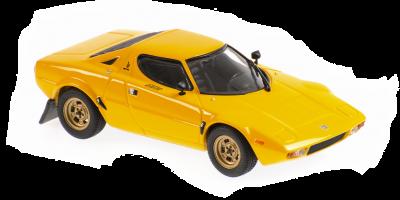 MINICHAMPS 1/43scale Lancia Stratos 1974 Yellow  [No.940125021]