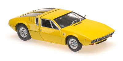MINICHAMPS 1/43scale DETOMASO MANGUSTA – 1967 – YELLOW  [No.940127120]