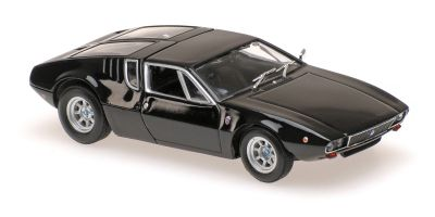 MINICHAMPS 1/43scale DETOMASO MANGUSTA – 1967 – BLACK  [No.940127121]