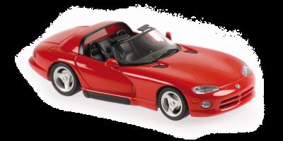 MINICHAMPS 1/43scale Dodge Viper Roadster 1993 Red  [No.940144030]