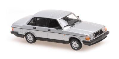 MINICHAMPS 1/43scale Volvo 240 GL 1986 Silver Metallic  [No.940171402]