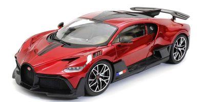 Bburago 1/18scale Bugatti Divo (Red)  [No.BUR11045R]