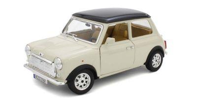Bburago 1/18scale Mini Cooper (1969) Beige  [No.BUR12036BE]