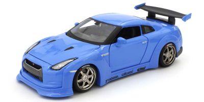 MAISTO 1/24scale Nissan GT-R Light Blue  [No.MS32526LB]