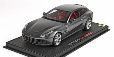 BBR 1/18scale Ferrari GTC4 Lusso Geneva Motor Show 2016 New Grigio Ferro metallic (metallic gray) New Grigio Ferro metallic (metallic gray) [No.P18129A]