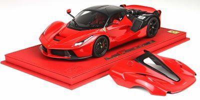 BBR 1/18scale La Ferrari OPEN 2013  Rossokorusa 322 / black wheels  with case [No.P1867OPEN2C]