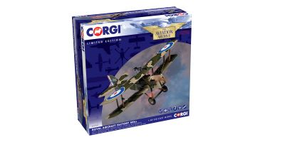 CORGI 1/48scale SE5a D3511 R. S Dallas RAF 40th Squadron France Bruay Airfield May 1918 World War I Australia Ace  [No.CGAA37709]