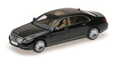 ALMOST REAL 1/43scale Mercedes Maybach S Class 2016 Black  [No.AL420101]