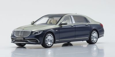 ALMOST REAL 1/43scale Mercedes Maybach S Class 2019 (Anthracite Blue / Aragonite Silver)  [No.AL420108]