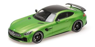 ALMOST REAL 1/43scale MERCEDES-AMG GT R – 2017 – GREEN  [No.AL420704]