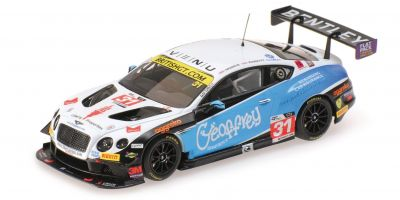 ALMOST REAL 1/43scale BENTLEY GT3 TEAM PARKER RACING BRITISH GT CHAMPIONSHIP – 2016 #31 White/Black/Blue  [No.AL430312]