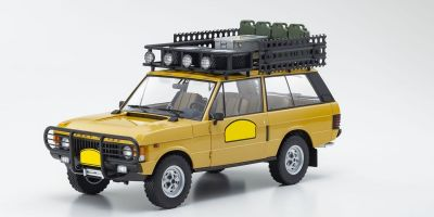 ALMOST REAL 1/18scale Range Rover Camel Trophy Papua New Guinea 1982 (Yellow)  [No.AL810106]