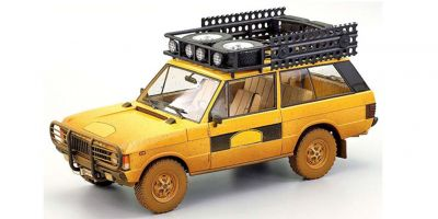 ALMOST REAL 1/18scale Range Rover Camel Trophy Sumatra 1981 Dirty Version (Yellow)  [No.AL810111]