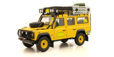 ALMOST REAL 1/18scale LAND ROVER DEFENDER 110 - ´CAMEL TROPHY EDITION´ (YELLOW)  [No.AL810305]