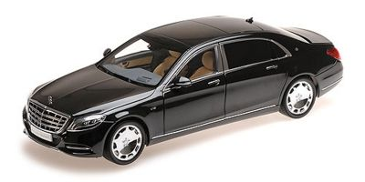 ALMOST REAL 1/18scale Mercedes Maybach S Class 2016 (Black)  [No.AL820102]