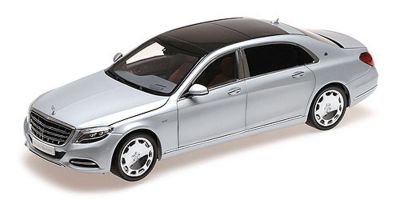 ALMOST REAL 1/18scale MERCEDES-BENZ S-CLASS MAYBACH - 2016 - IRIDIUM SILVER  [No.AL820103]