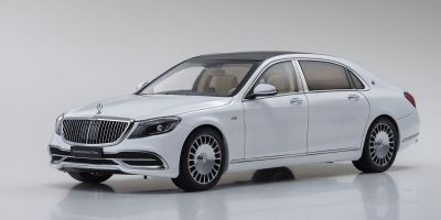 ALMOST REAL 1/18scale Mercedes Maybach S Class 2019 (Diamond White)  [No.AL820111]