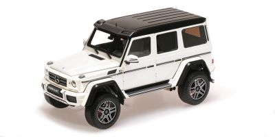 ALMOST REAL 1/18scale MERCEDES-BENZ G500 4×4² CONCEPT – WHITE  [No.AL820203]